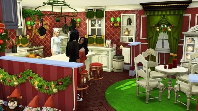 Sims 4 Nick's Helpers Home at Hafuhgas Sims Geschichten