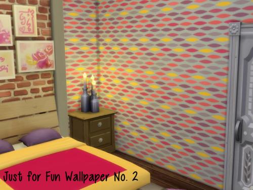 Sims 4 Just for Fun Wallpaper No. 2 at ChiLLis Sims