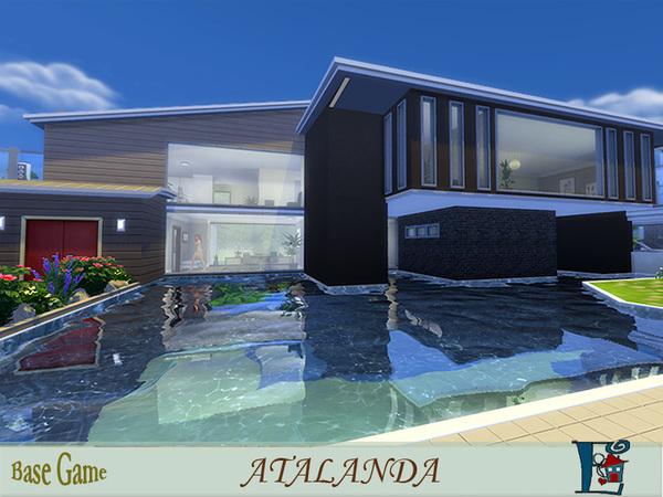 Atalanda house by Evi at TSR image 5719 Sims 4 Updates