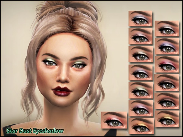 Star Dust Eyeshadow by Kitty.Meow at TSR image 5720 Sims 4 Updates
