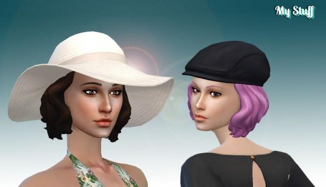 Sims 4 Short Wavy Conversion at My Stuff
