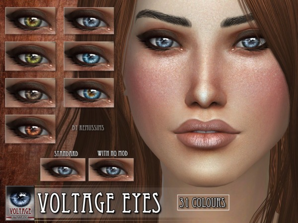 Voltage Eyes by RemusSirion at TSR image 577 Sims 4 Updates