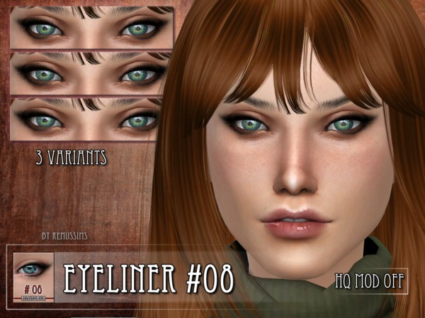 Eyeliner 08 by RemusSirion at TSR image 580 Sims 4 Updates