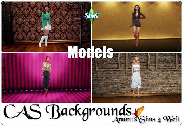 Models CAS Backgrounds at Annett's Sims 4 Welt image 589 Sims 4 Updates