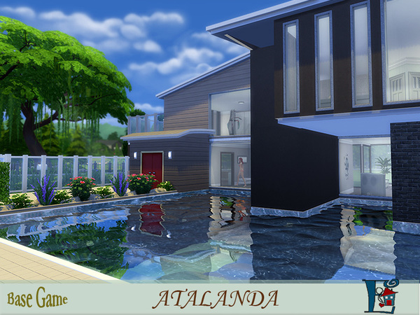 Atalanda house by Evi at TSR image 5916 Sims 4 Updates