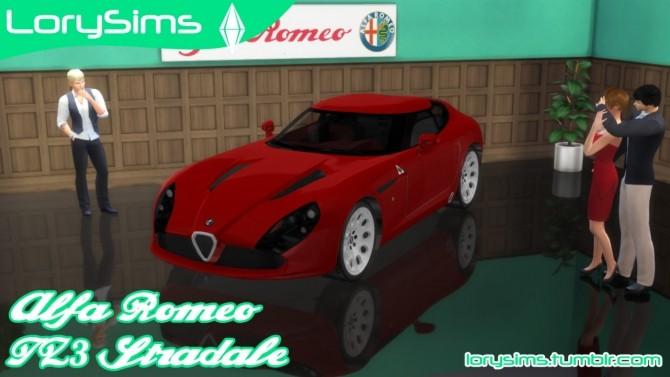 Alfa Romeo TZ3 Stradale Zagato at LorySims image 5918 670x377 Sims 4 Updates