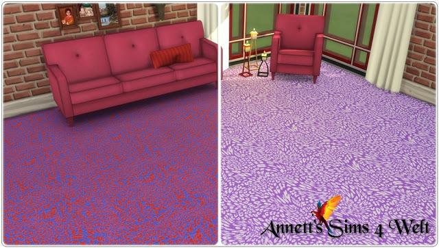 Sims 4 Leopard floors at Annett's Sims 4 Welt