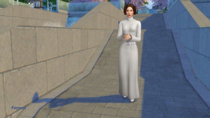 Carrie Fisher as Princess Leia Organa by Snowhaze at Mod The Sims image 6018 670x377 Sims 4 Updates
