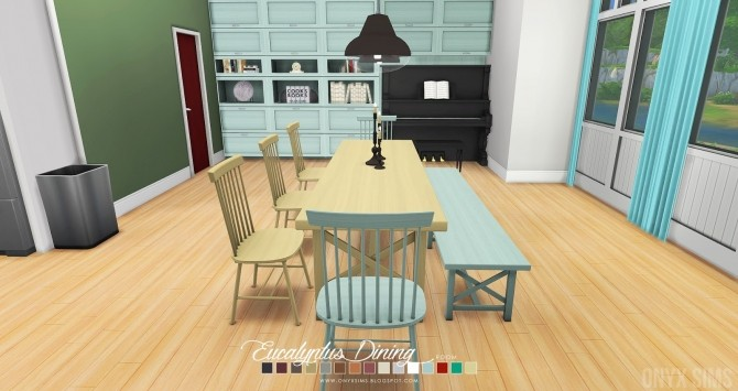 Eucalyptus Dining Room at Onyx Sims image 615 670x355 Sims 4 Updates