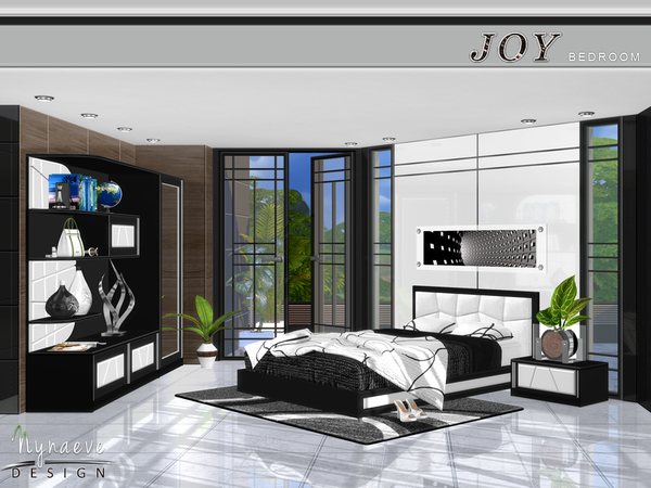 Joy Bedroom by NynaeveDesign at TSR image 620 Sims 4 Updates