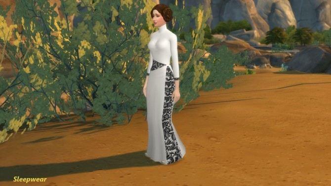 Carrie Fisher as Princess Leia Organa by Snowhaze at Mod The Sims image 6219 670x377 Sims 4 Updates
