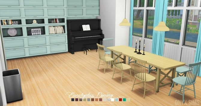Eucalyptus Dining Room at Onyx Sims image 623 670x355 Sims 4 Updates