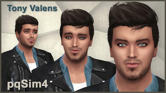Sims 4 Tony Valens by Mary Jiménez at pqSims4
