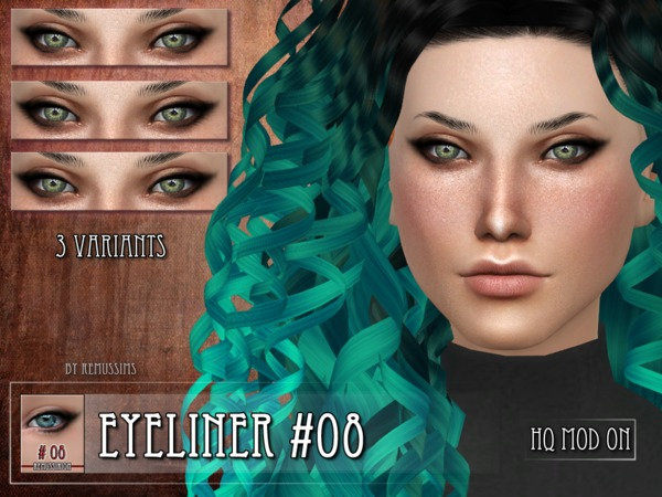 Eyeliner 08 by RemusSirion at TSR image 630 Sims 4 Updates