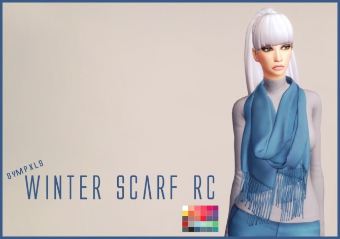 Winter Scarf RC by Sympxls at SimsWorkshop image 6316 670x472 Sims 4 Updates