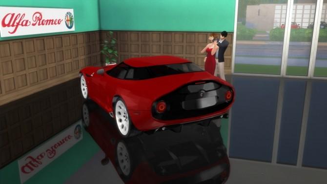 Alfa Romeo TZ3 Stradale Zagato at LorySims image 6317 670x377 Sims 4 Updates