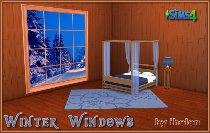 Winter Windows at ihelensims image 637 670x425 Sims 4 Updates