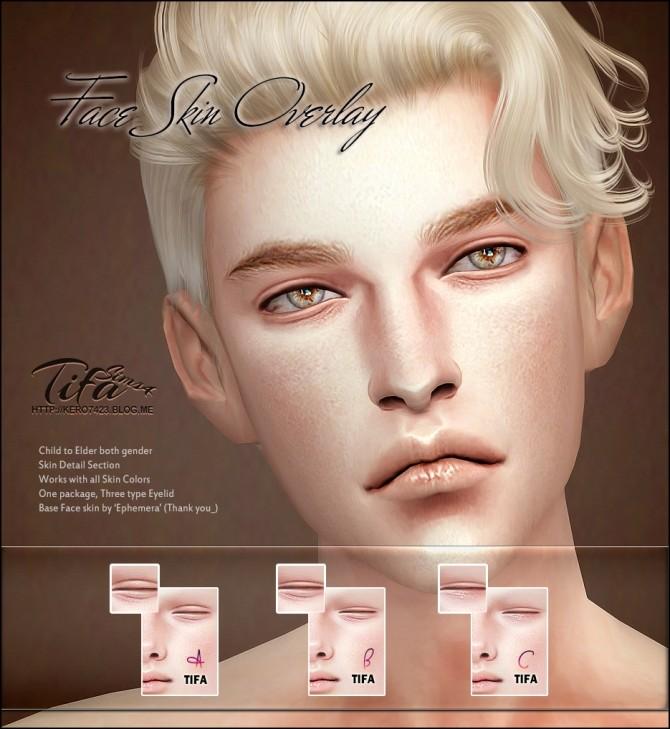 Face Skin Overlay At Tifa Sims 187 Sims 4 Updates