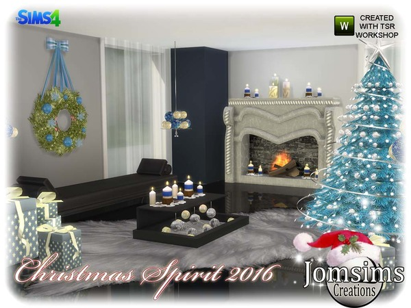 Christmas spirit 2016 set by jomsims at TSR image 640 Sims 4 Updates