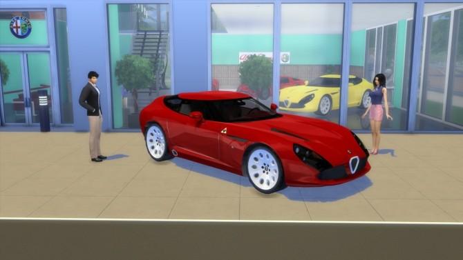 Alfa Romeo TZ3 Stradale Zagato at LorySims image 6416 670x377 Sims 4 Updates