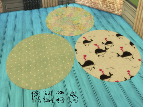 Rug 6 at ChiLLis Sims image 643 Sims 4 Updates