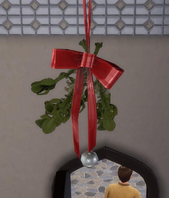 2 to 4 Mistletoe by BigUglyHag at SimsWorkshop image 659 Sims 4 Updates