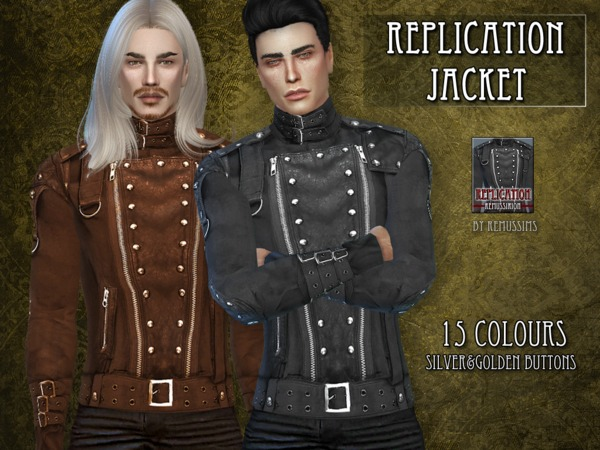 Replication Jacket by RemusSirion at TSR image 66 Sims 4 Updates