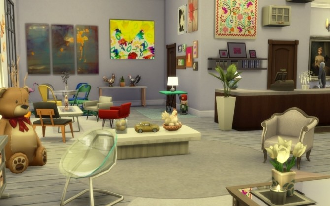 Crealieu boutique by Bloup at Sims Artists image 66111 670x419 Sims 4 Updates