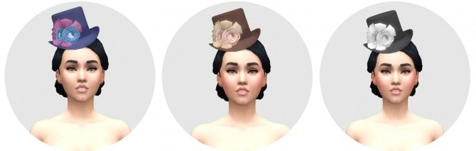 Victorian Womens Hat by Anni K at Historical Sims Life image 664 670x213 Sims 4 Updates