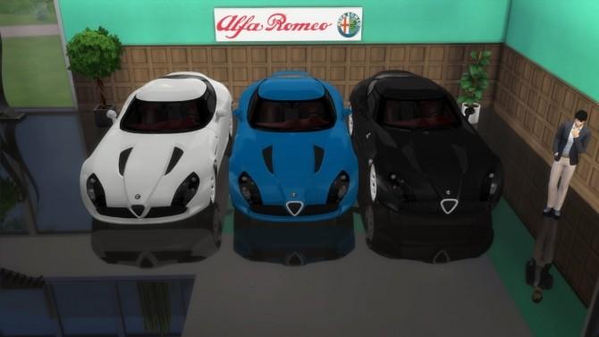 Alfa Romeo TZ3 Stradale Zagato at LorySims image 6719 670x377 Sims 4 Updates