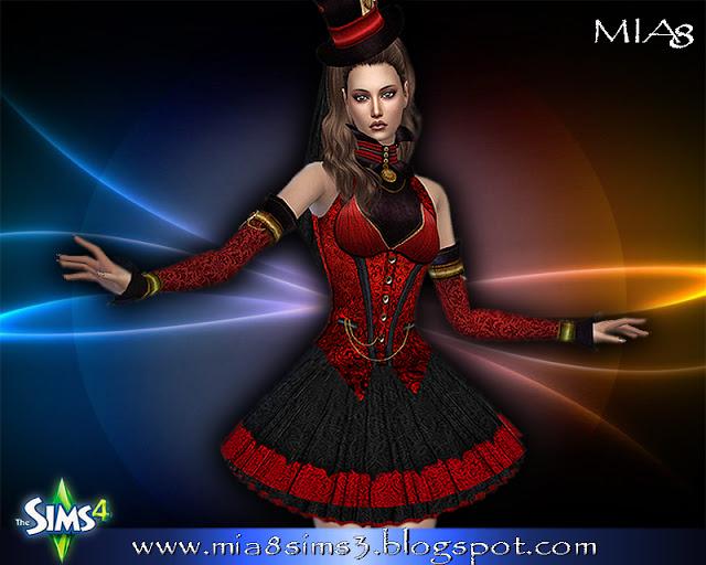 6 new dresses at MIA8 image 674 Sims 4 Updates