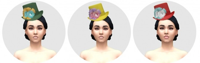 Victorian Womens Hat by Anni K at Historical Sims Life image 675 670x213 Sims 4 Updates