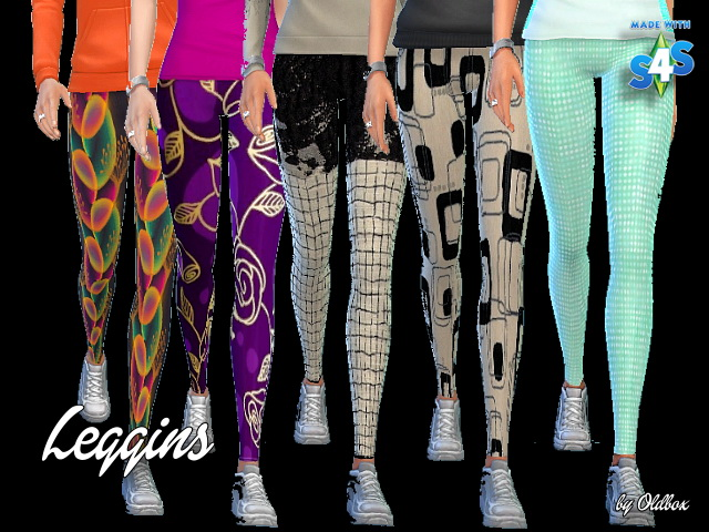 Leggings by Oldbox at All 4 Sims image 678 Sims 4 Updates