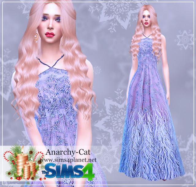 Dress #66 at Anarchy Cat image 681 Sims 4 Updates