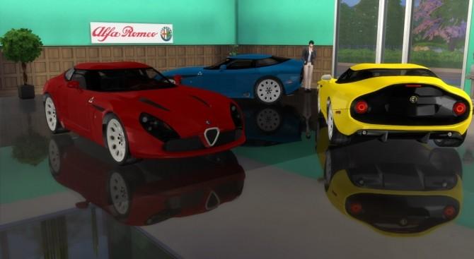 Alfa Romeo TZ3 Stradale Zagato at LorySims image 6818 670x367 Sims 4 Updates
