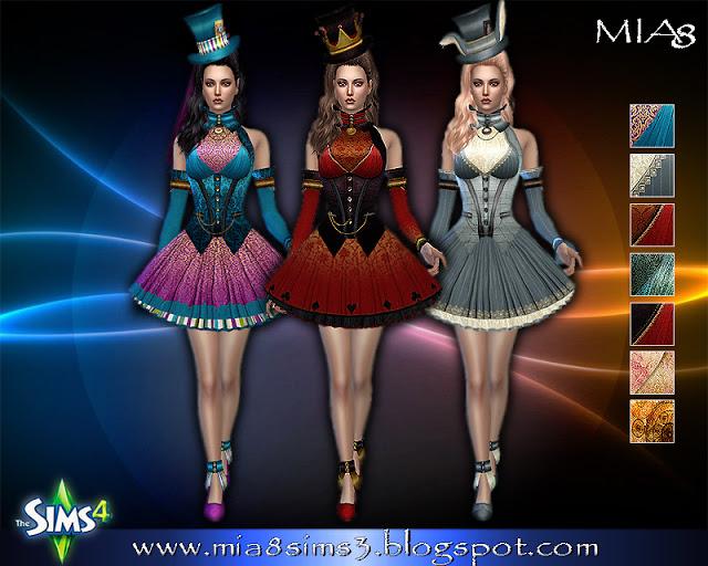 6 new dresses at MIA8 image 684 Sims 4 Updates