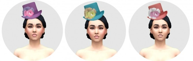 Victorian Womens Hat by Anni K at Historical Sims Life image 685 670x213 Sims 4 Updates