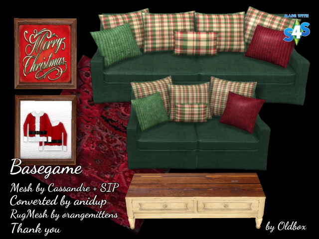 Christmas room 2016 by Oldbox at All 4 Sims image 688 Sims 4 Updates