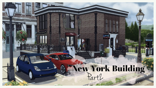 Sims 4 New York Building at Dinha Gamer
