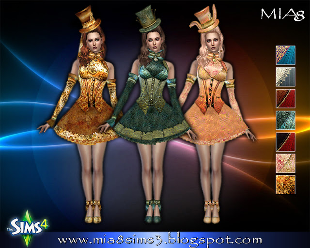 6 new dresses at MIA8 image 694 Sims 4 Updates