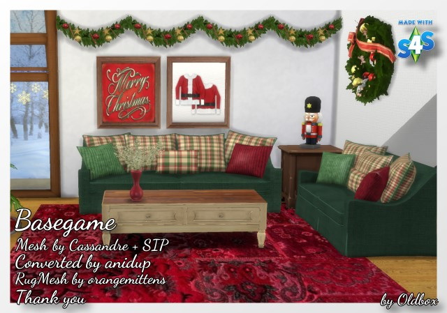Christmas room 2016 by Oldbox at All 4 Sims image 698 Sims 4 Updates