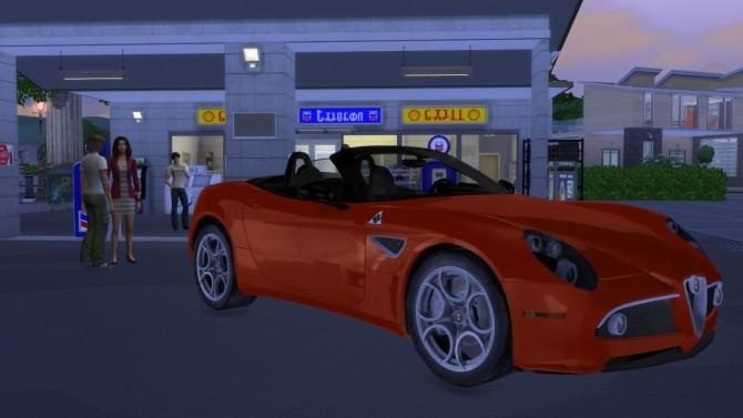Alfa Romeo 8c Spider at LorySims image 7017 670x377 Sims 4 Updates