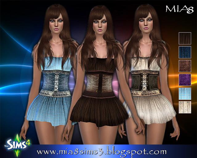 6 new dresses at MIA8 image 704 Sims 4 Updates