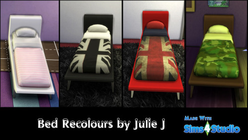 Sofa Style Single Bed Recolours at Julietoon – Julie J image 705 Sims 4 Updates