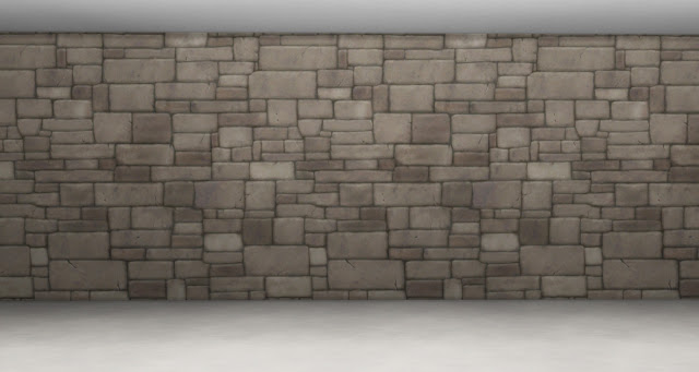 18 Stone Wall Murals from the Sims Medieval by Anni K at Historical Sims Life image 711 Sims 4 Updates