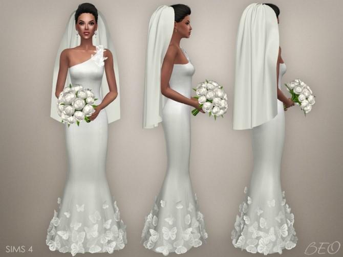 Sims 4 Wedding Veil.Wedding Veil 03 At Beo Creations Sims 4 Updates