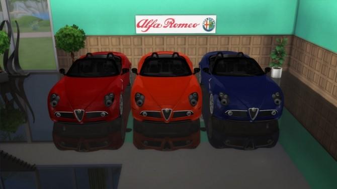 Alfa Romeo 8c Spider at LorySims image 7122 670x377 Sims 4 Updates