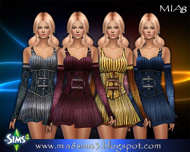 6 new dresses at MIA8 image 717 Sims 4 Updates