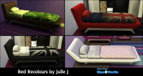 Sofa Style Single Bed Recolours at Julietoon – Julie J image 719 Sims 4 Updates