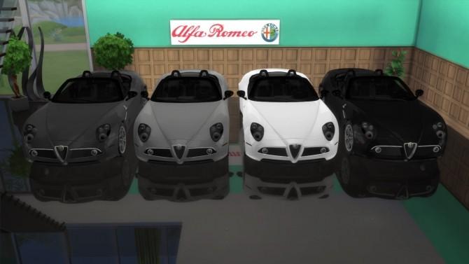 Alfa Romeo 8c Spider at LorySims image 7219 670x377 Sims 4 Updates